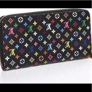 Louis Vuitton Zippy Multicolor Wallet